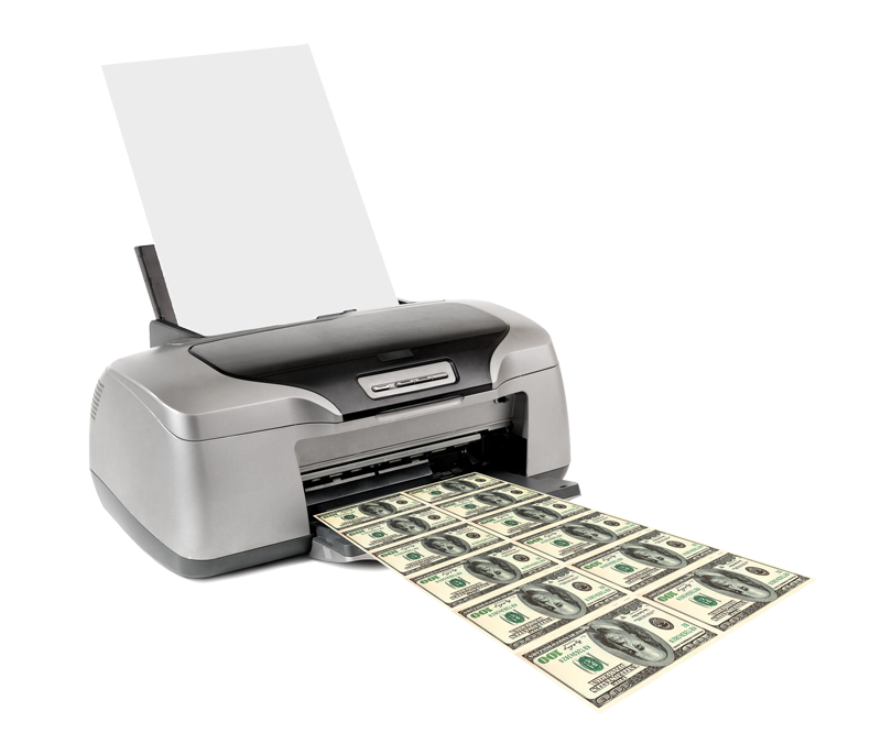 Can banks individually create money out of nothing  The